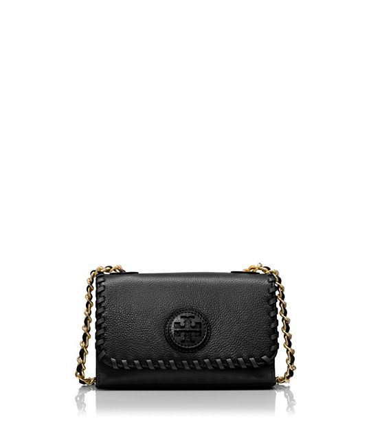 3c46f30eb47e Tory Burch Marion Shrunken Shoulder Bag   Women s Accessories ...