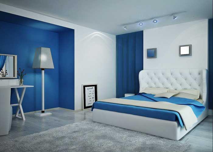 Kinder Oder Erwachsene Schlafzimmer blau streichen Ideen ...