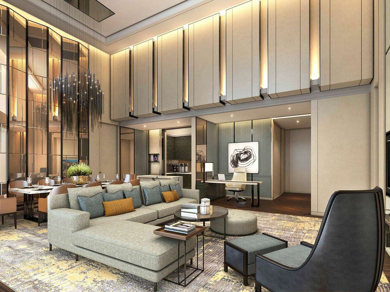 80 Luxury Interior Design Ideas That Will Take Your House To Another Level 80 Modern Houses Interior Apartment Interior Luxury Living Room