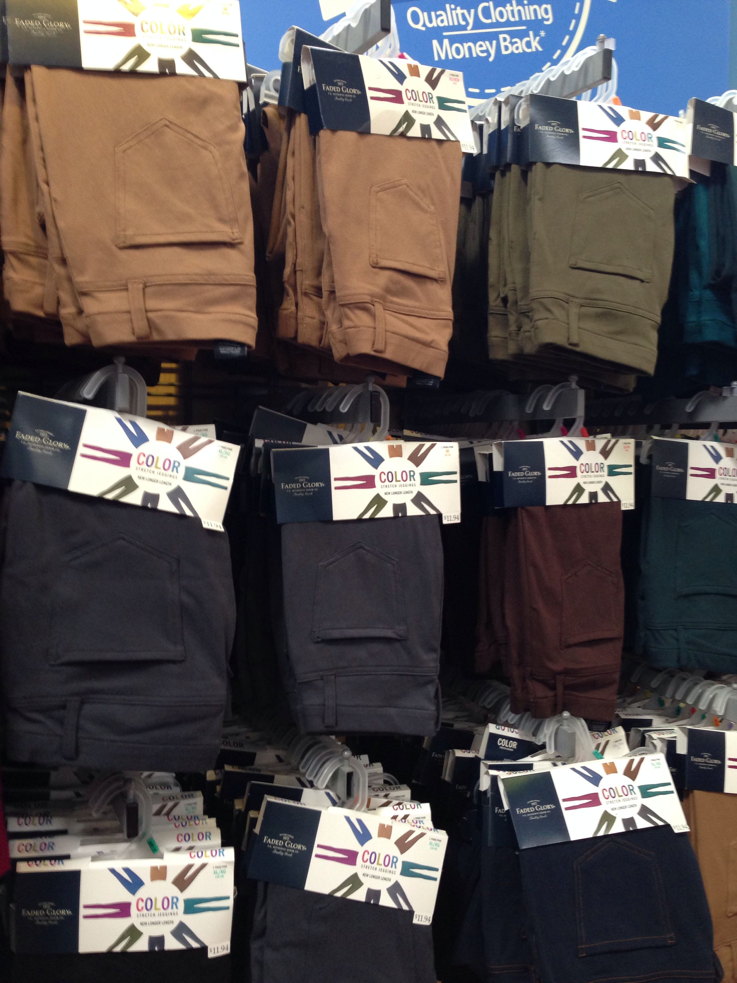 aa09842dd139a Colored jeggings at Walmart $12 | All I want for Christmas ...