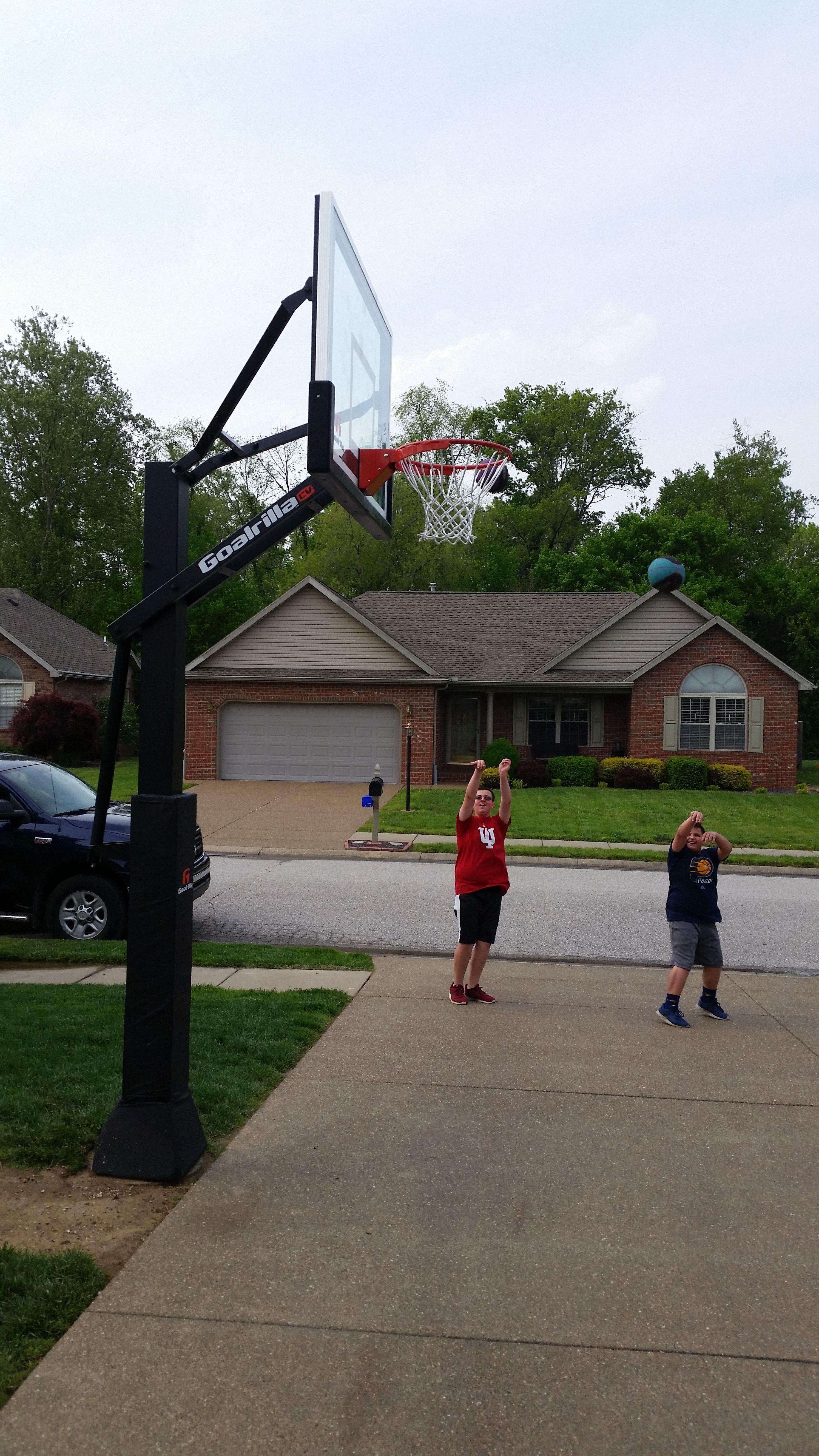 Goalrilla Home Court Basketball Grounds Goals