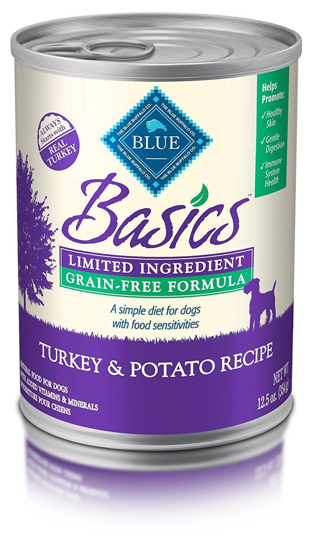 Blue buffalo basics limitedingredient wet dog food