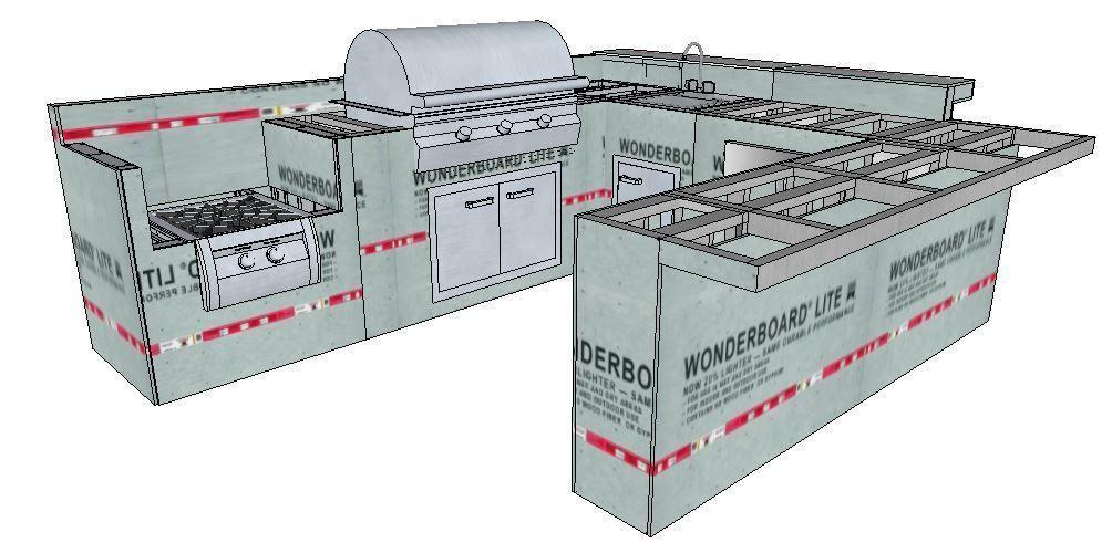 Paradise Outdoor Kitchens For Entertaining Guests In 2020 Outdoor Kitchen Kits Outdoor Kitchen Outdoor Kitchen Design