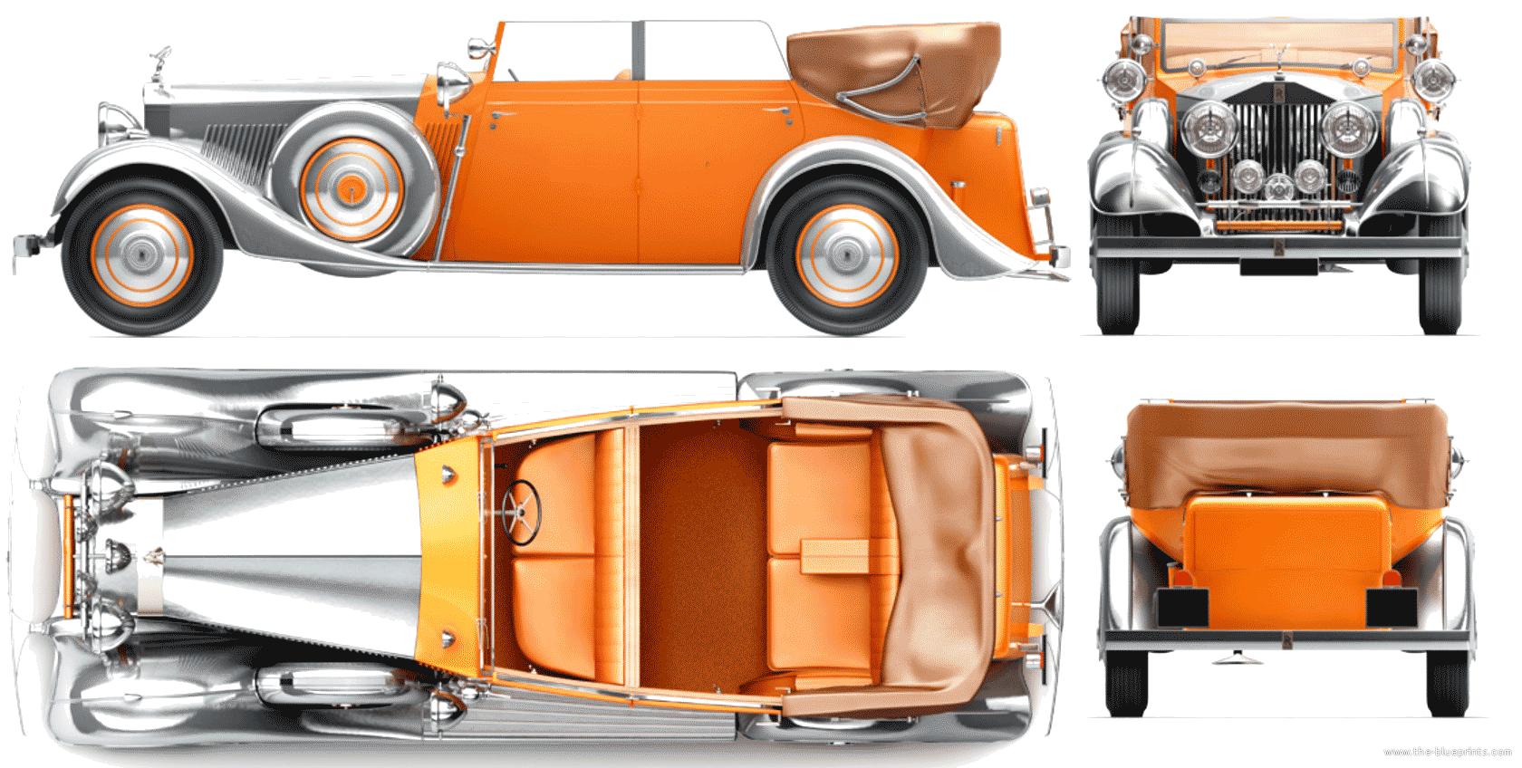 Rolls Royce Phantom Ii Star Of India Thrupp And Marbely Cabriolet Sedan 1934 Rolls Royce Rolls Royce Phantom Classic Rolls Royce