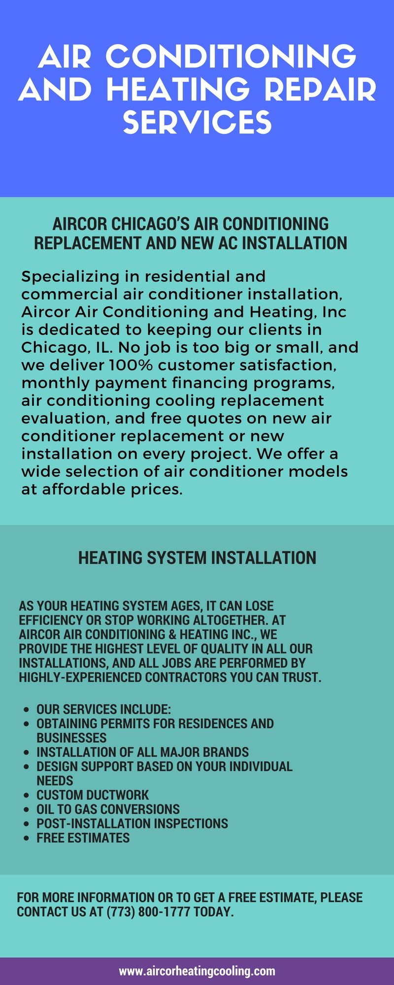 Aircor Chicago S Premier Air Conditioning And Heating Heating Repair Air Conditioner Installation Hvac Contractor
