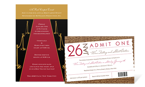 Browse our Sample Invitation Wording selection for any occasion or