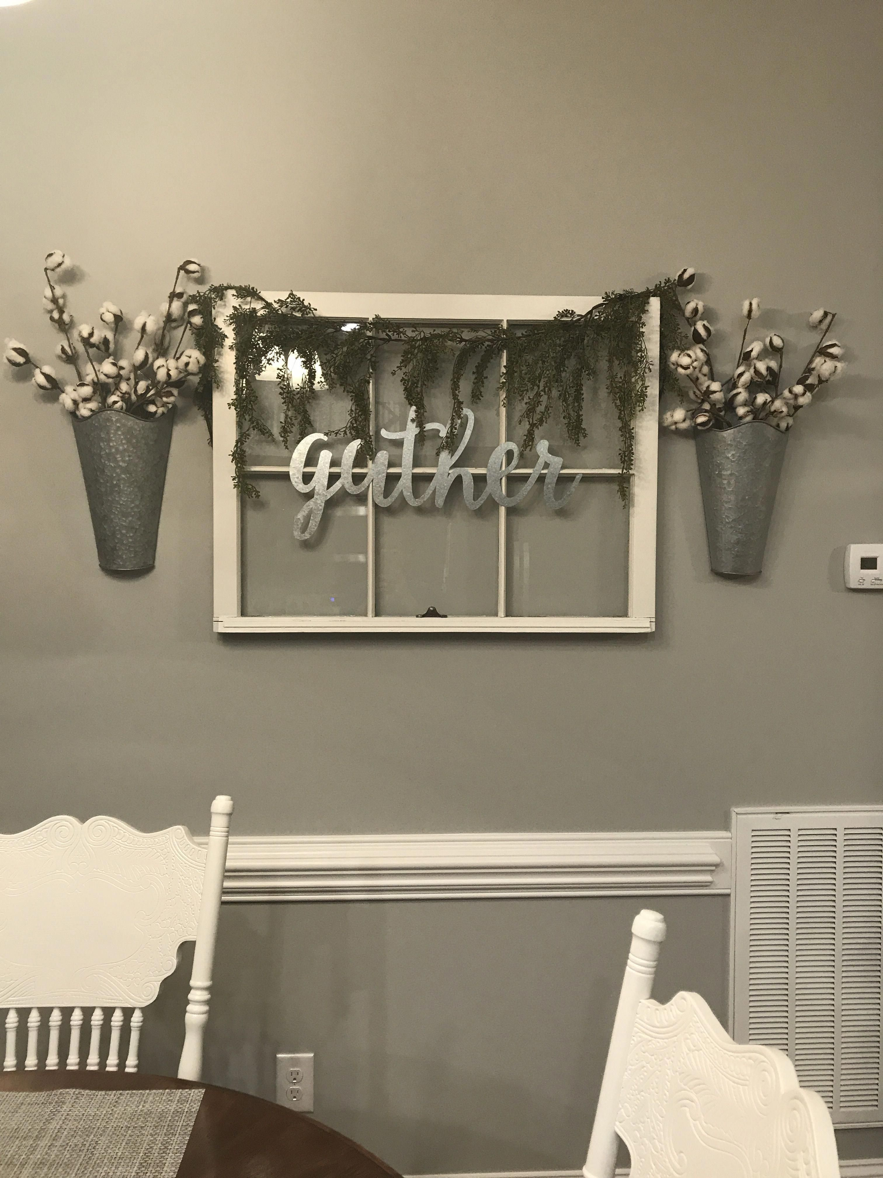 I D Raise Up Sign And Floral Just A Little Sign Would Say Forever And Put 3 Pics Of S Farmhouse Wall Decor Farmhouse Decor On A Budget Farm House Living
