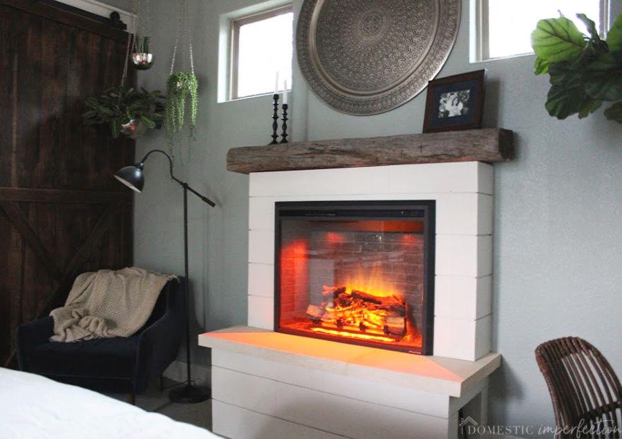 Diy electric fireplace electric fireplace diy fireplace