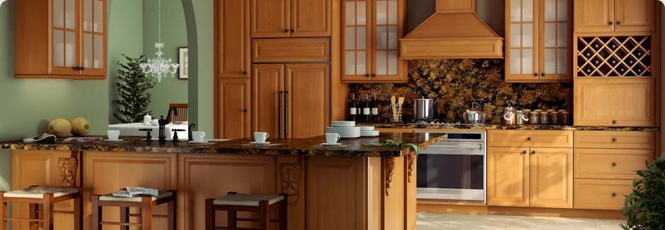 K Series: Honey   Forevermark Cabinetry, LLC.