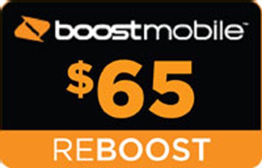 Boost Mobile Re-Boost $65 00 | boost | Boost mobile, Mobile