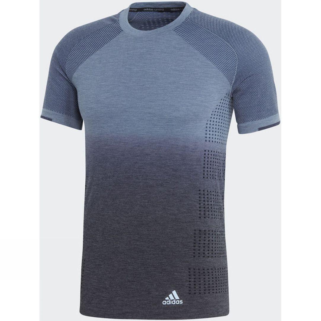 Adidas Mens Primeknit Wool Dip-Dye Tee