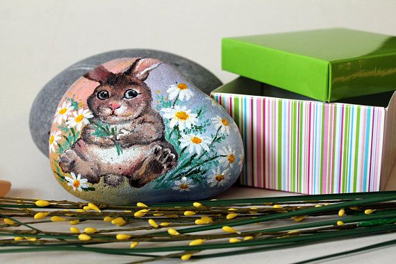 Painted rock easter bunny pattern goddaughter gifts rabbit pattern painted rock easter bunny pattern goddaughter gifts rabbit pattern easter present idea gift for goddaughter ute rabbit gifts happy easter pinterest negle Gallery