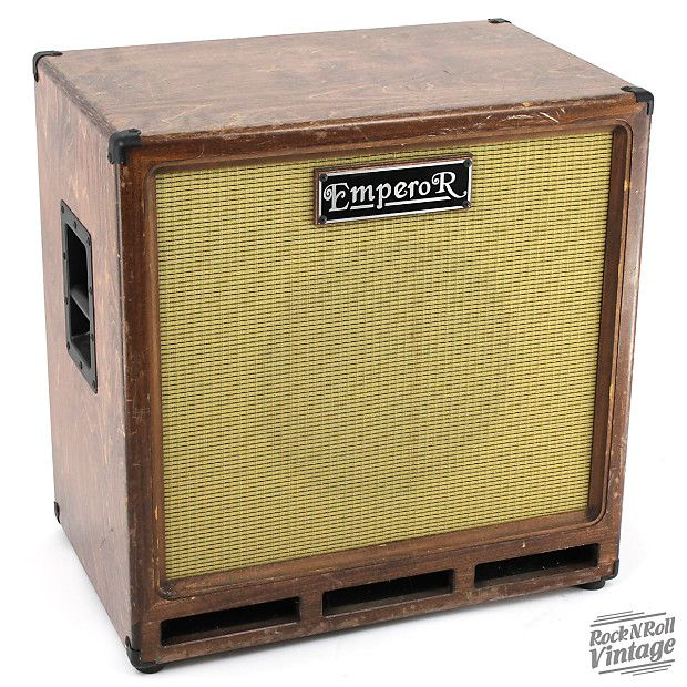 Emperor 1x15 Bass Cab Rock N Roll Vintage Reverb Bass Amps Bass Guitar Amp