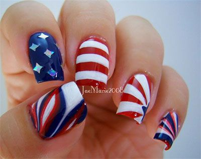 15 stunning fourth of july nail art designs ideas trends stickers 15 stunning fourth of july nail art designs prinsesfo Choice Image
