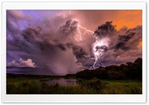 Lightning Strike HD Wide Wallpaper for Widescreen