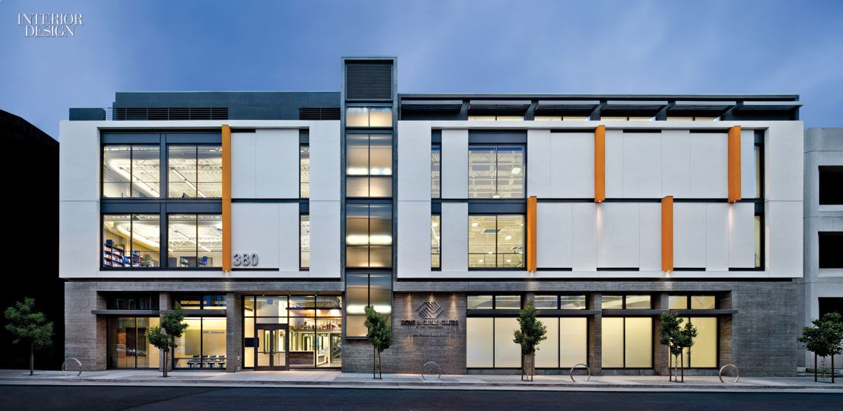 Boys Girls Clubs Of San Francisco S Don Fisher Clubhouse By Tef Design Apartments Exterior Club House Club Exterior Design