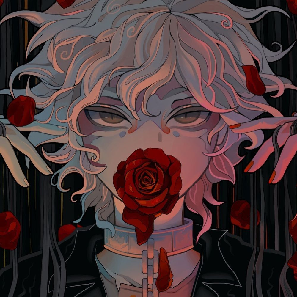 icon animeboy / mangaboy art in 2020 Nagito komaeda