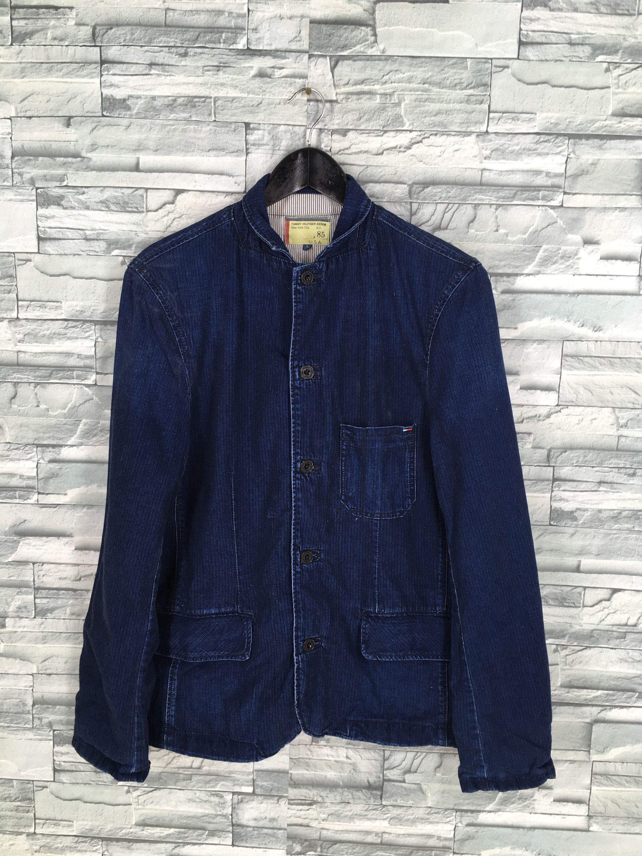Tommy Hilifger Denim Jeans Jacket Large Vintage Tommy Workwear Etsy Denim Jean Jacket Stylish Jackets Denim Fashion [ 3000 x 2250 Pixel ]