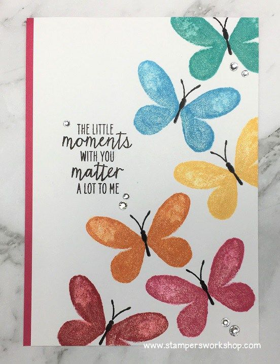 The little moments with you matter a lot to me friendship card