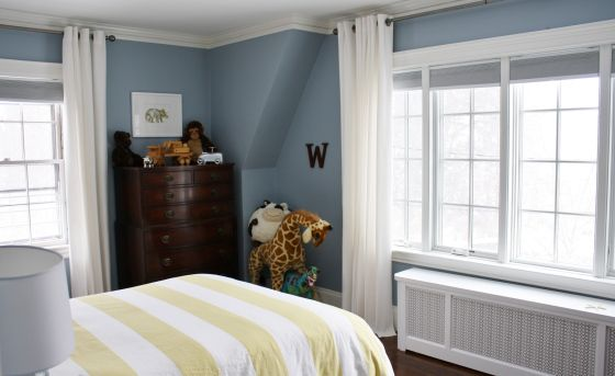 Boy Nursery In Master Bedroom