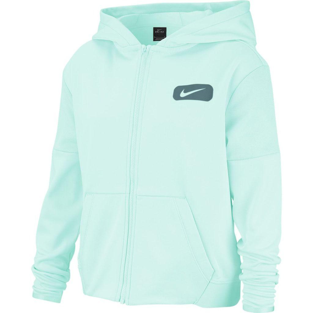 Girls 7 16 Nike Dri Fit Therma Full Zip Training Hoodie Hoodies Nike Dri Fit Hoodies Womens [ 1024 x 1024 Pixel ]