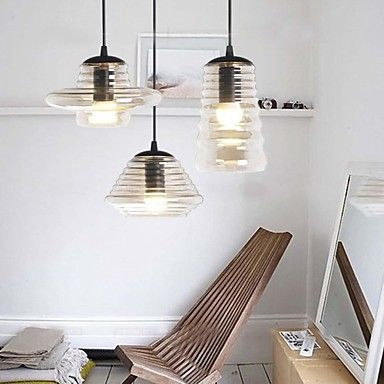 Edison Bulb Loft Style Vintage Pendant Industrial Light Lamp With 3 Lights For Dining Room