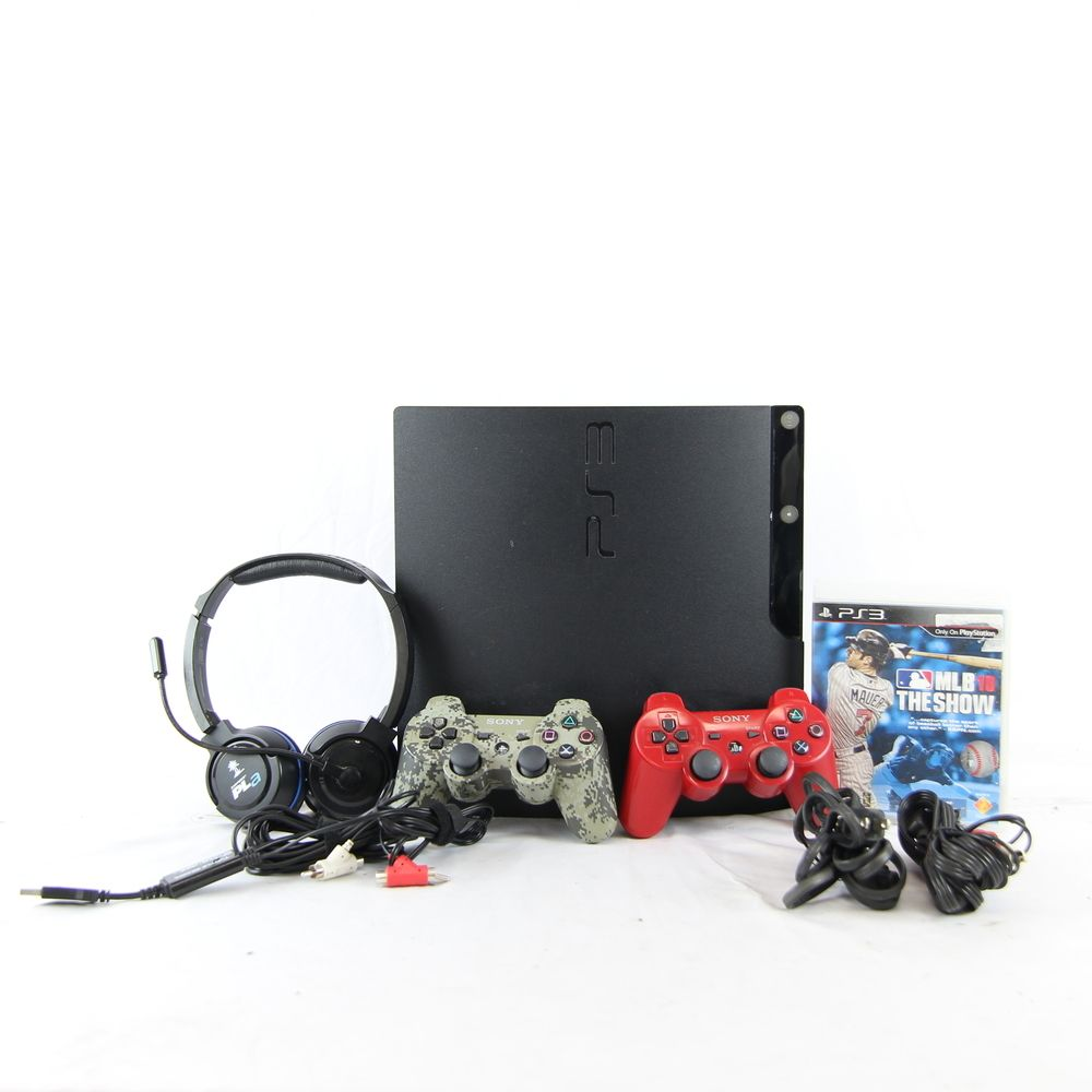 Sony PlayStation 3 PS3 Slim CECH-2001B 250GB Video Game Console - Charcoal Black https://t.co/8sKN59PyNr https://t.co/grbmfgIdFq