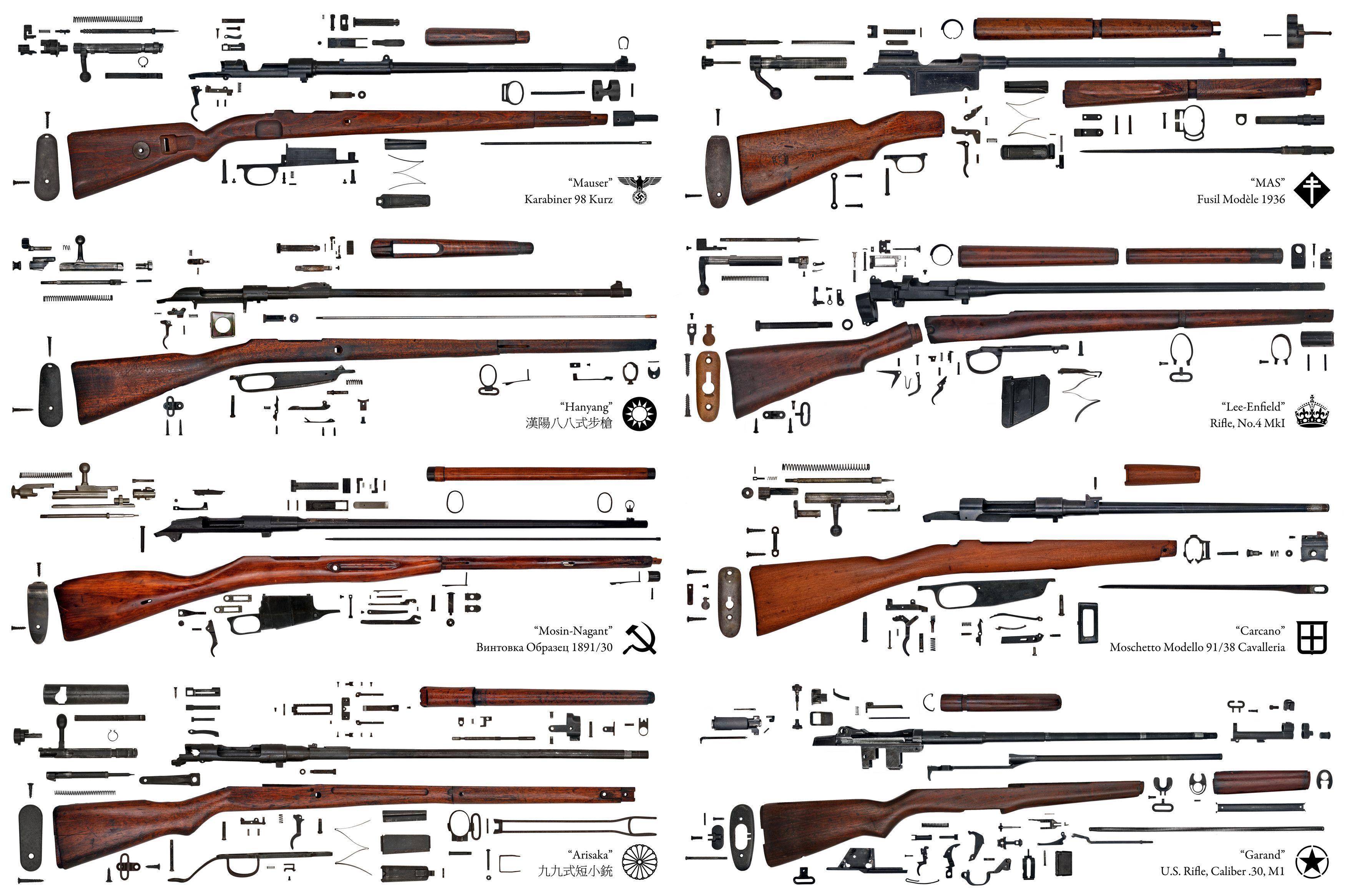 Wwii Gun Parts