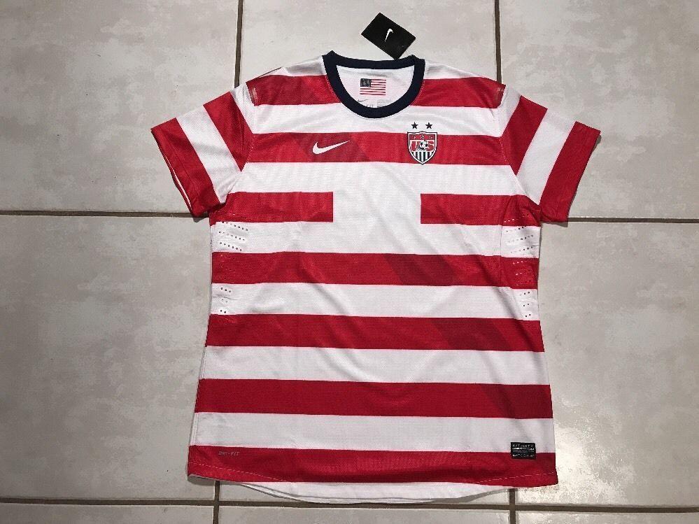 b3f501b8b27bd NWT NIKE USA National Team WALDO Soccer Jersey Women s Large