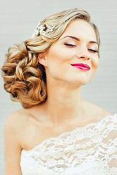 wedding hairstyle and bridal dresses 4
