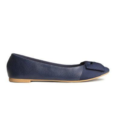 9c1870128e26 H M Ballet pumps dark blue Rp349.900