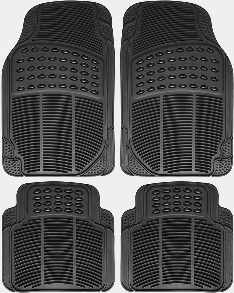 Suv Floor Mats >> Suv Floor Mat For Buick Enclave 4pc Set All Weather Rubber Semi