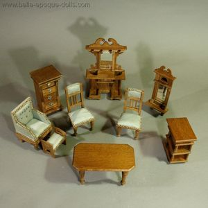 Möbel Eppendorf antique dollhouse german miniature antique dolls house furniture