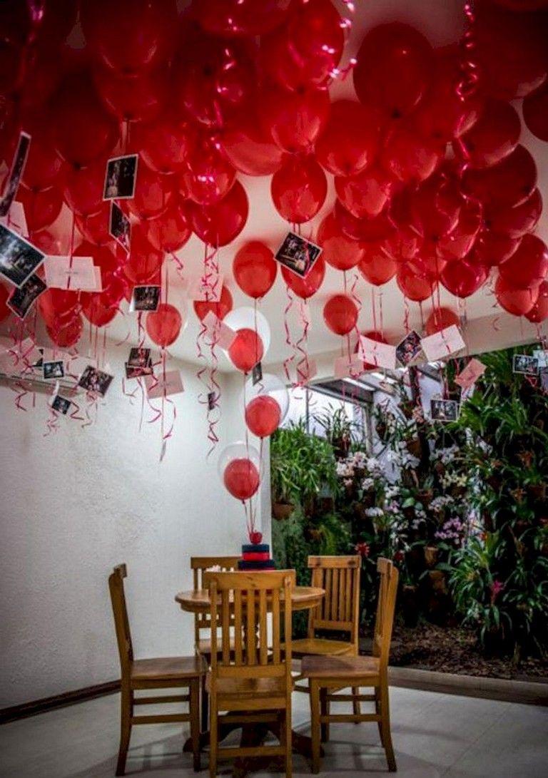40 Beauty Romantic Valentines Party Decor Ideas Valentines Day