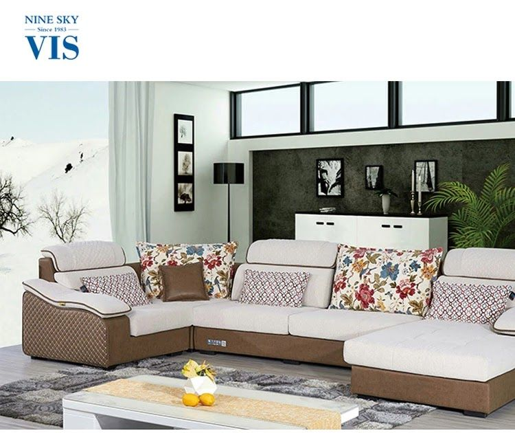 Ninesky Brand Fabric Sectional Italian Design U Shape Sofa Couches Under 500 5 Seater Sofa Set Kenya Buy Ita In 2020 Sofa Set Designs Latest Sofa Set Designs Best Sofa