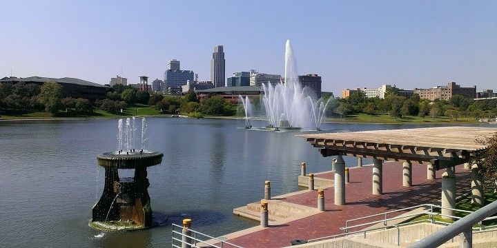 Heartland of America Park, Omaha, Nebraska, Great Plains, USA, North America