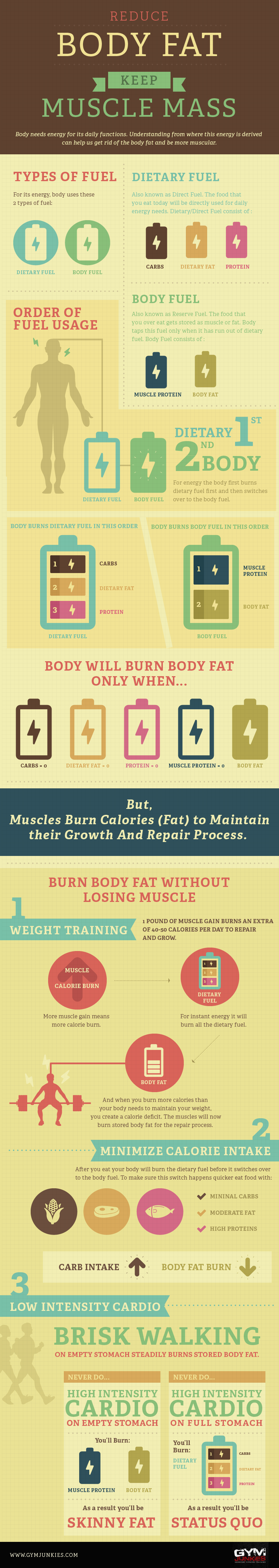 best way to loose fat