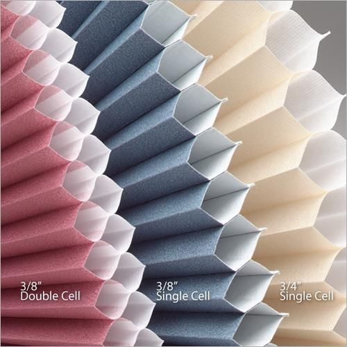 What Cell Size Do I Need Cellular Shade Sizes Explained Cellular Shades Cell Shade Cellular Blinds
