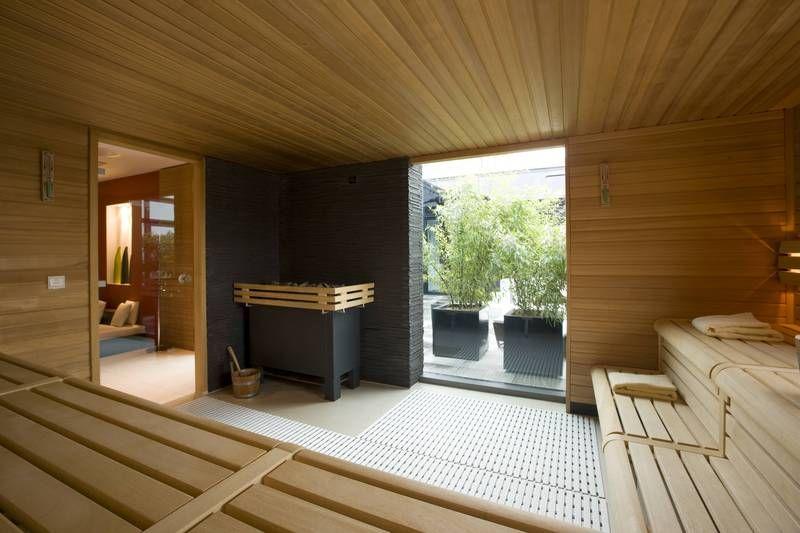 sauna at home in garden http://www.sopra.de/wellness/saunabau ... - Sauna Designs Zu Hause