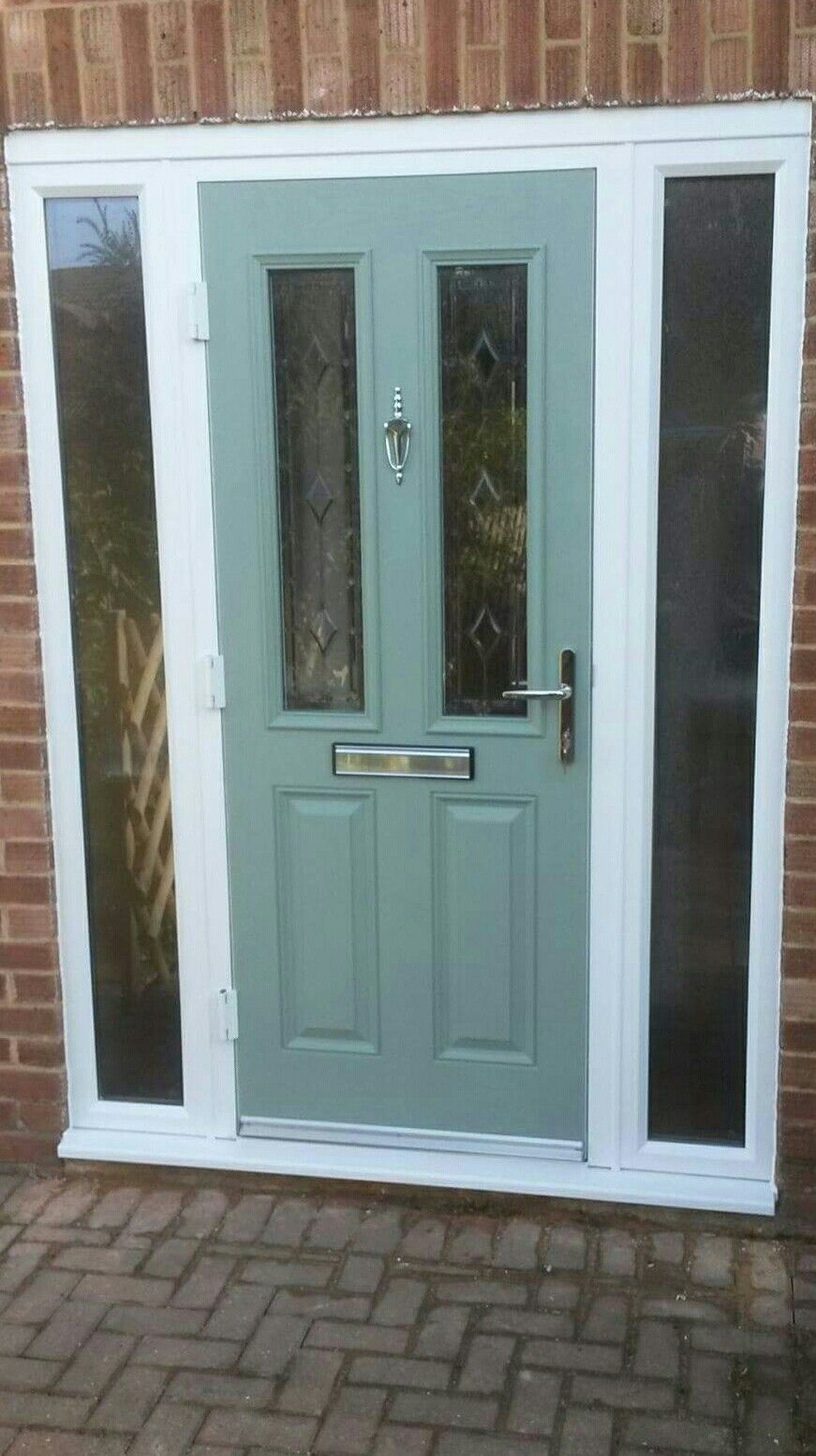 Chartwell green composite door from for Exterior door companies