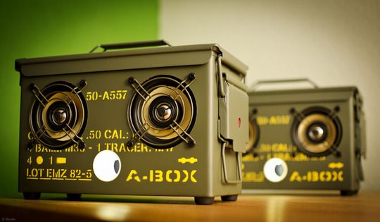 How To Make Your Own Military Style Ammo Box Boombox | DIY