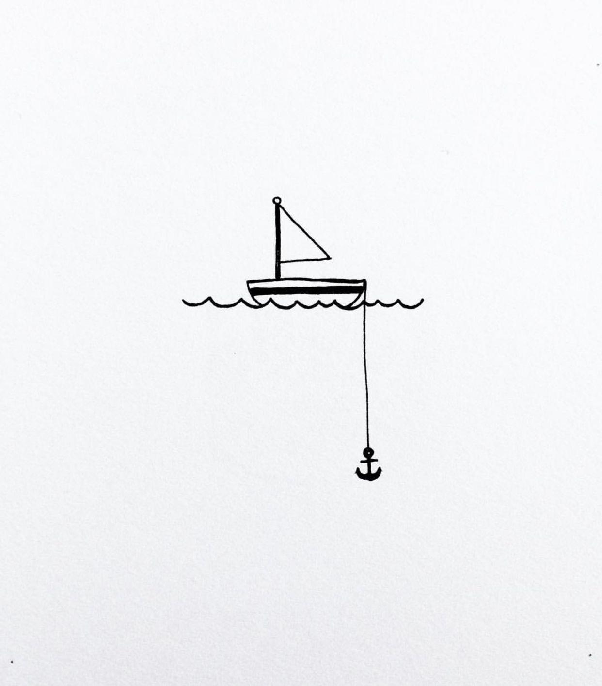 Super Cute Drawing Idea I Love These Super Simple But Cute Scenes