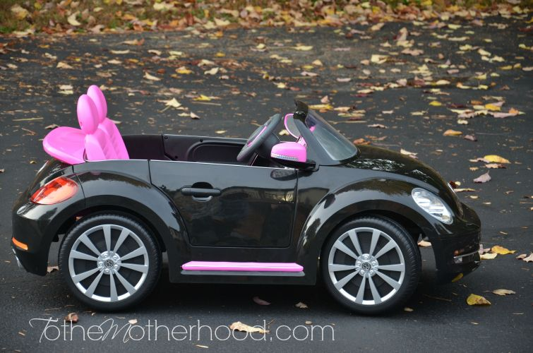 Kid Trax Vw Beetle Convertible 12 Volt Battery Powered Ride On