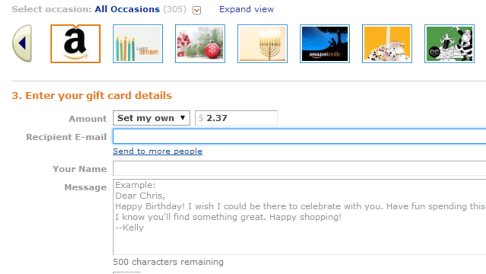 Buy Amazon Gift Cards to Use Up that Prepaid Debit Card ... Happy Gift Card Balance