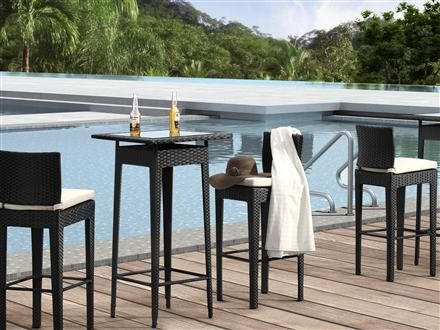 Exterior 2 Person Bar Height Pub Table Chair Set Google Search