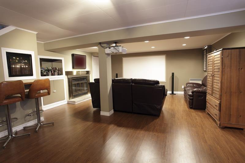Delightful 25 Inspiring Finished Basement Designs   Home Epiphany