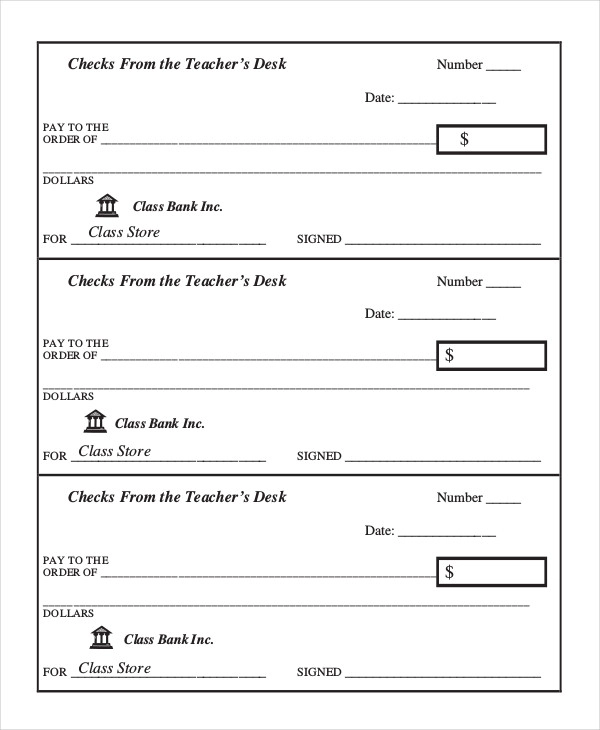 10+ Payroll Check Templates (With images) Payroll checks