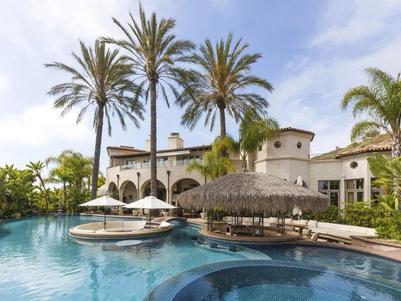 Chris Bosh House Pool Pool Houses Ocean View Balcony Pool