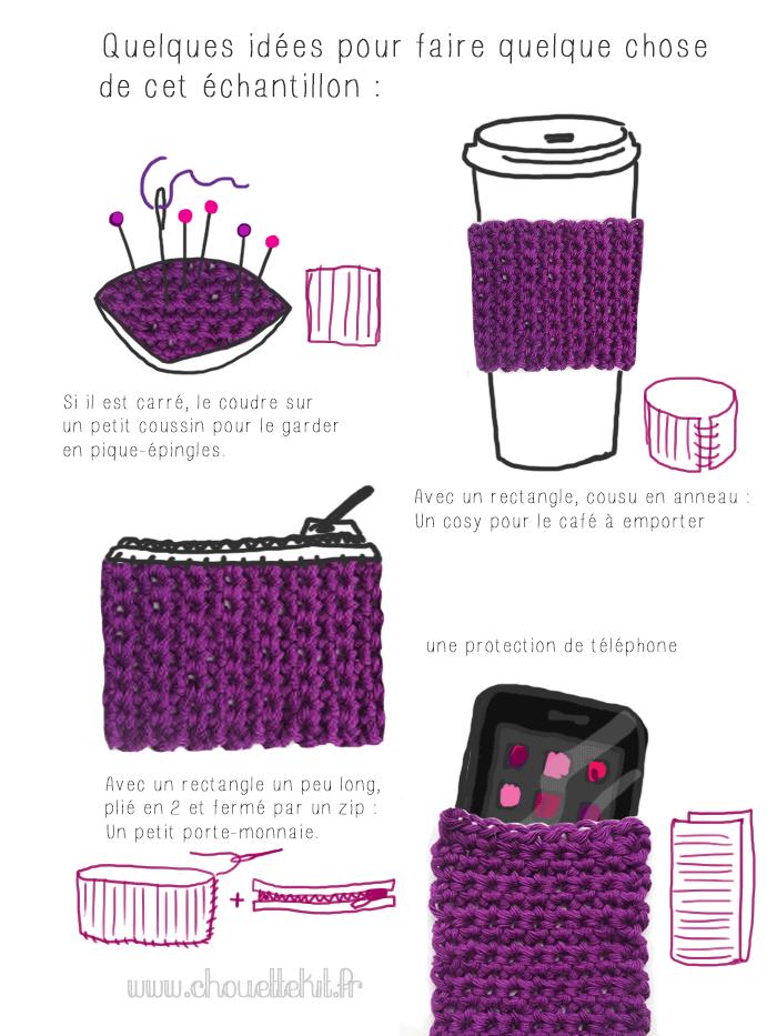 crochet le on n 2 maille serr e crochet pinterest crochet knitting and diy crochet. Black Bedroom Furniture Sets. Home Design Ideas