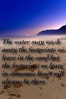 Heart Footprints